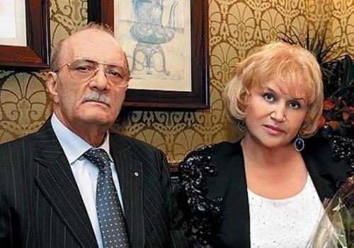 Режиссер с женой Галиной Юрковой