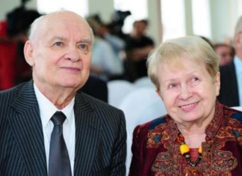 Супруги Александра Пахмутова и Николай Добронравов