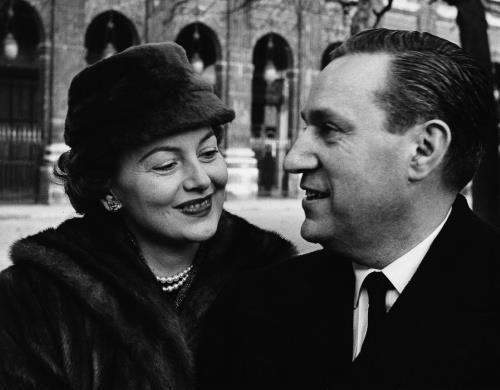 Оливия де Хэвилленд и Пьер Галант